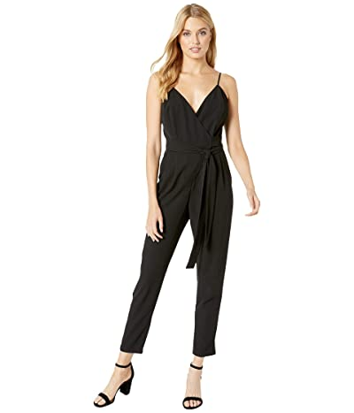 WAYF Prescott Wrap Cami Jumpsuit (Black) Women