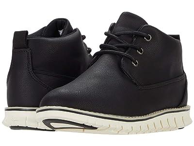 Steve Madden Kids Major (Toddler/Little Kid/Big Kid) (Black) Boys Shoes