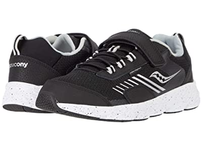 Saucony Kids S-Wind Shield A/C (Little Kid/Big Kid) (Black) Boys Shoes