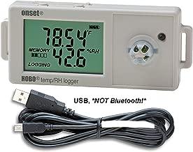Onset HOBO UX100-011 Humidity Data Logger w/ 2.5%RH Accuracy Kit