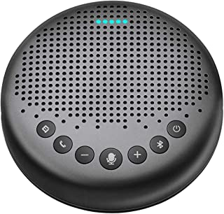 Bluetooth Speakerphone – Luna New AI Noise Redaction Algorithm Featured, Daisy Chain, USB Conference Speaker Phone w/Dongl...