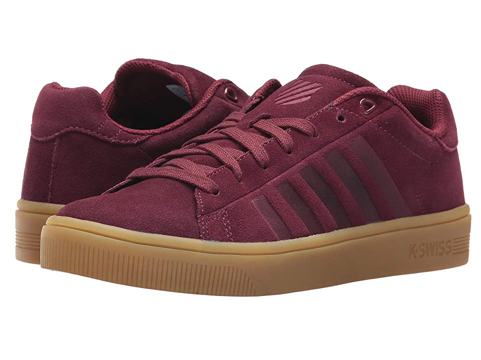 K-Swiss Court Frasco SDE (Burgundy/Gum) Women