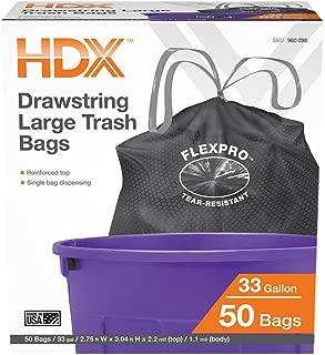 HDX 33 Gal. Proflex DS Large Trash Bags (50-Count)