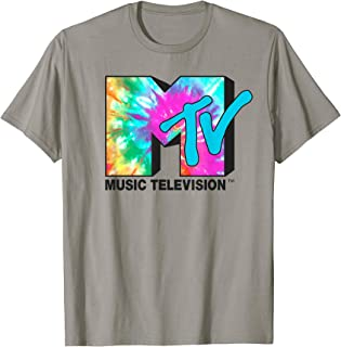 Bright Rainbow Tie Dye Logo T-Shirt