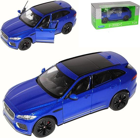 Welly Jaguar F Pace X761 Suv Blau Ab 2016 1 24 Modell Auto Spielzeug
