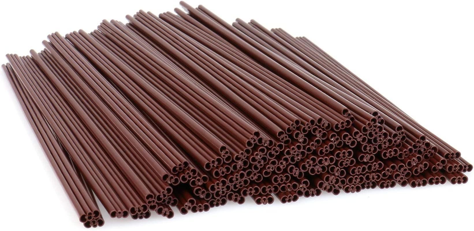 Coffee Stir Sticks 6 7 Inch Disposable Plastic Coffee Stirrer Straw 100ct