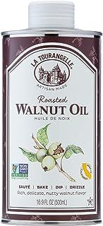 La Tourangelle, Roasted Walnut Oil, Plant-Based Source of Omega-3 Fatty Acid, Cooking, Baking, & Beauty, 16.9 fl oz