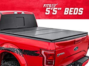 Rough Country Hard Tri-Fold (fits) 2015-2020 F150 5.5 FT Bed Truck Tonneau Cover 45515550