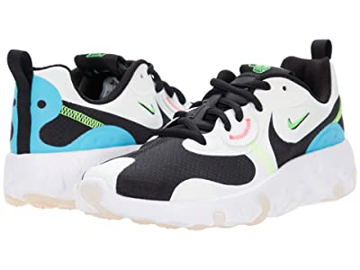 Nike Kids Renew Lucent 2 (Big Kid) (Summit White/Black/Blue Fury/Volt) Kids Shoes