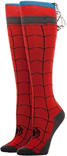 Spiderman - Knee High Cape Sock Size ONE SIZE