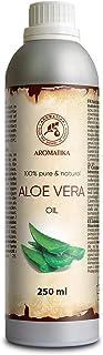Pure Aloe Vera Oil 250ml - Aloe Barbadensis - Brasil - Skin