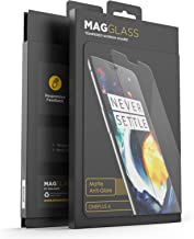 Magglass (Case Compatible) OnePlus 6 Matte Screen Protector - Fingerprint Free Tempered Glass (Magglass XM90 Scratchproof/Shatterproof) Reinforced Anti Glare Screen Guard