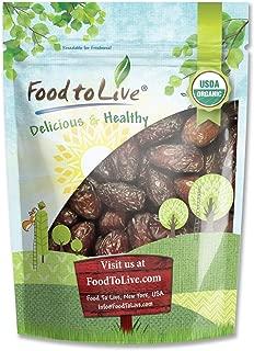 Organic Medjool Dates, 2 Pounds - Non-GMO, Raw, Vegan