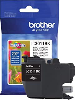 Brother Printer LC3011BK Singe Pack Standard Cartridge Yield Upto 200 Pages LC3011 Ink Black