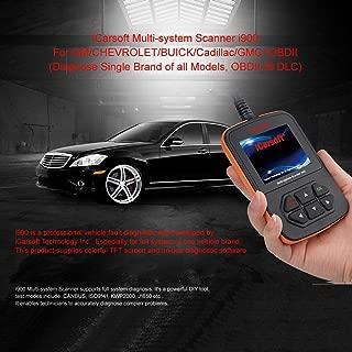 iCarsoft i900 General Motors Gm Obd2 Car Truck Diagnostic Scanner Tool Reset Erase Fault Code