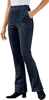 Sponsored Ad - Woman Within Women`s Plus Size Tall Bootcut Fineline Jean