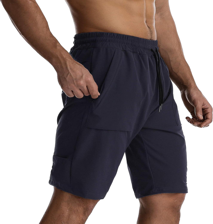 EVERWORTH Men Lightweight Hiking Shorts Gym Wo Quick Dry Stretch Ranking TOP19 Arlington Mall