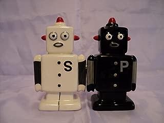 Robots72 Attractives Salt Pepper Shaker Made of Ceramic