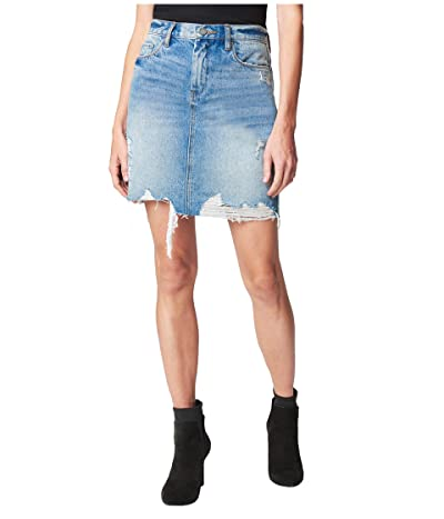 Blank NYC Denim Mini Skirt in Love It or Leave It (Love It Or Leave It) Women