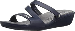 crocs Patricia Navy Women Wedge