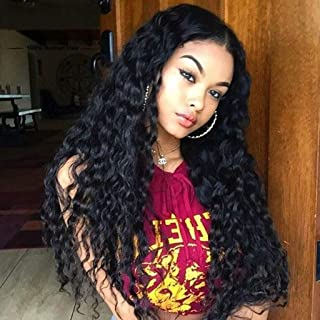 ALICE Long Black Wig, Loose Curly 24