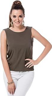 Vero Moda Black Sleeveless Chain Top For Women - M, Beluga