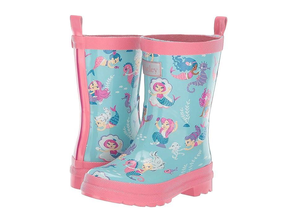 Hatley Kids Life of Mermaids Boots (Toddler/Little Kid) (Aruba Blue) Girls Shoes