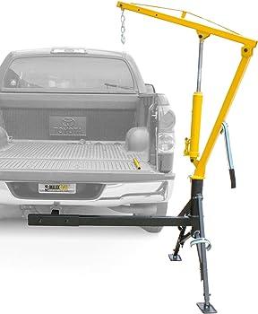 MaxxHaul Receiver Hitch 1000 lbs. Capacity Mounted Crane