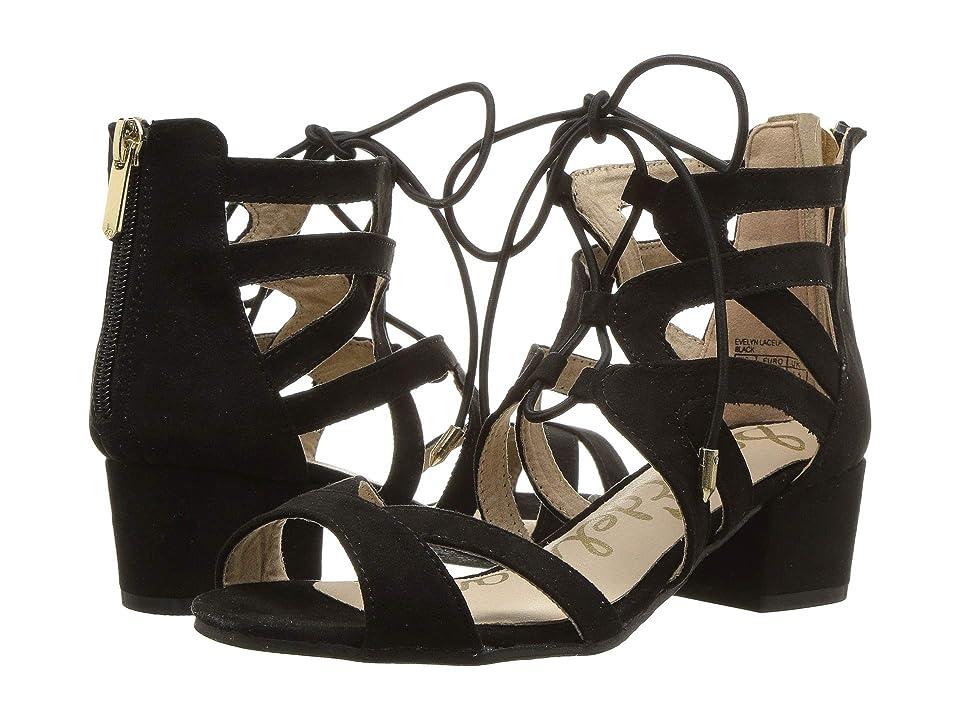 Sam Edelman Kids Evelyn Lace-Up (Little Kid/Big Kid) (Black) Girls Shoes
