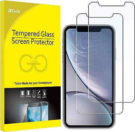 """JETech Lot de 2 Film de Protection d'écran Compatible avec iPhone XR 6,1"""" en Verre Trempé"""