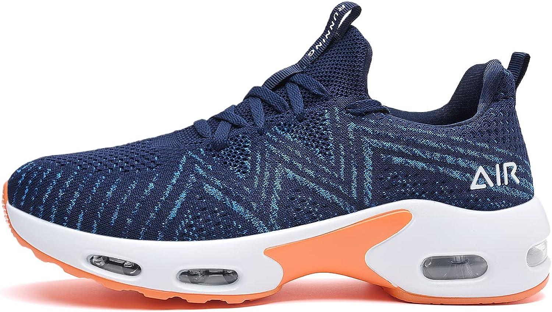 Quseek Max 75% OFF Men's Air Running Shoes Athletic Sneakers Tennis Walking Max 40% OFF