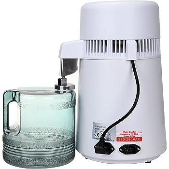 Destilador purificador de agua, interior de acero inoxidable ...