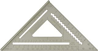 "Johnson Level & Tool RAS-120 12"" Aluminum Rafter Angle Square with Manual"