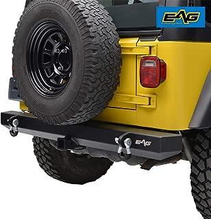 E-Autogrilles 51-0008 EAG Rear Bumper with 2