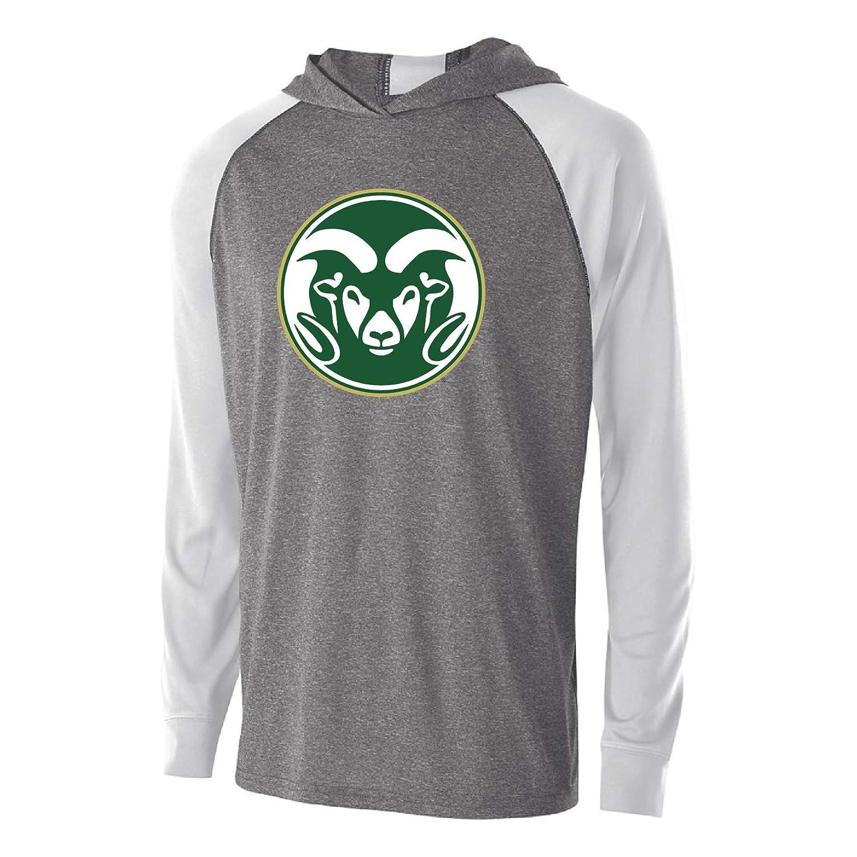 M Graphite//White NCAA Colorado State Rams Mens Echo HoodieEcho Hoodie