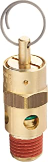 Control Devices ST25-1A050 St Series Brass Soft Seat Asme Safety Valve 50 Psi Set Pressure 1/4 Male Npt