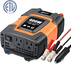 car battery and inverter