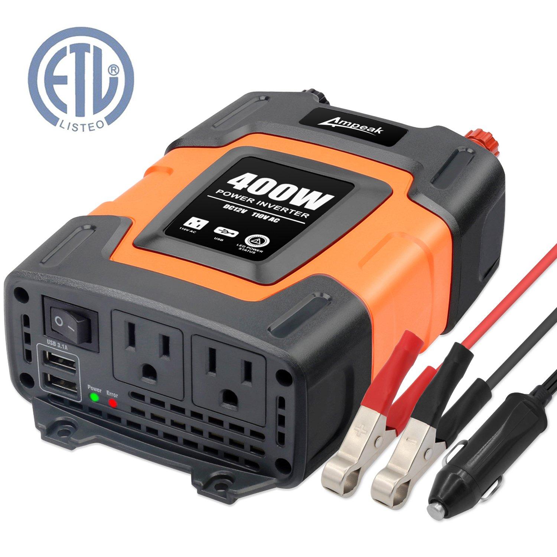 Ampeak 400W Power Inverter Converter