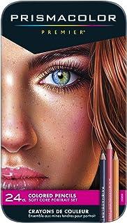 Sanford 25085R Prismacolor Premier Colored Pencils, Portrait Set, Soft Core, 24-Count