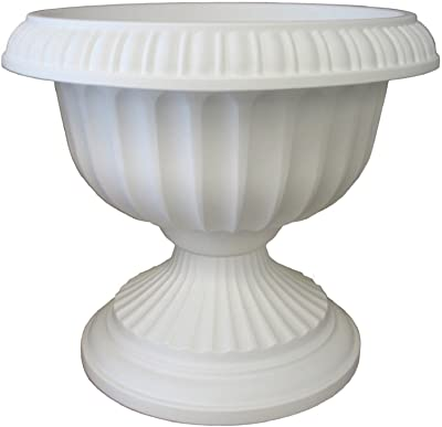 "Bloem Grecian Urn Planter, 12"", White"