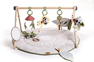 Tiny Love Luxe Developmental Gymini Baby Activity Mat Wooden Toy Arch 0m +, Boho Chic