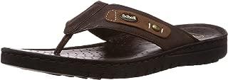 Scholl Men's Leather Hawaii Thong Sandals