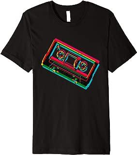 Vintage Retro Old School Hip Hop 80s 90s Gear Outfit Mixtape Premium T-Shirt