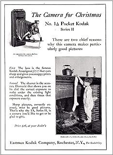 RelicPaper 1925 Kodak No 1A Pocket Series II: The Camera for Christmas, Eastman Kodak Print Ad