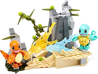 Mega Construx Pokemon Ball Squirtle vs Charmander Multi