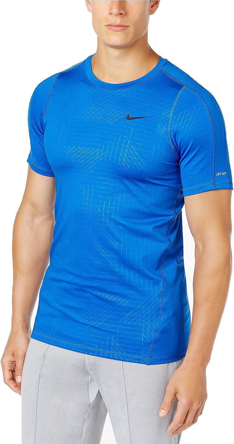 Nike Men's Blurred Short Sleeve Hydroguard