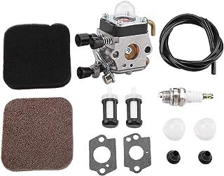 Lecxin Filtro de Aire, carburador y Filtro de Aire para Stihl FS80R FS85R KM85 HS75 FS74 FS76 HT75 C1Q-S157 Piezas de cortacésped para Stihl FS80R FS85R KM85 HS75 FS74 FS76 HT75 C1Q-S157