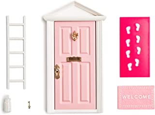18.5cm Little Magical Fairy Door Opening with Accessories/Tooth Fairy Door For Fairy Tale Education Learning Toy Pretend P...