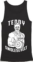 Teddy Swolesevelt Tank Top - Teddy Roosevelt Workout Shirt - Funny Gym Tank Top