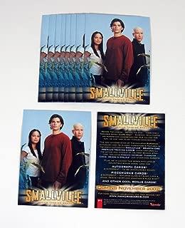 Lot of (10) 2002 Inkworks Smallville Season 1 Promo Card (P-1) Nm/Mt
